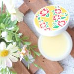 フルフリフリフラ椿とかんきつ花の蜜蝋バーム