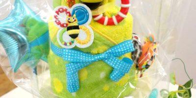 ベルビーベベのおむつケーキ